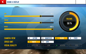 Asphalt 8 ran at medium settings