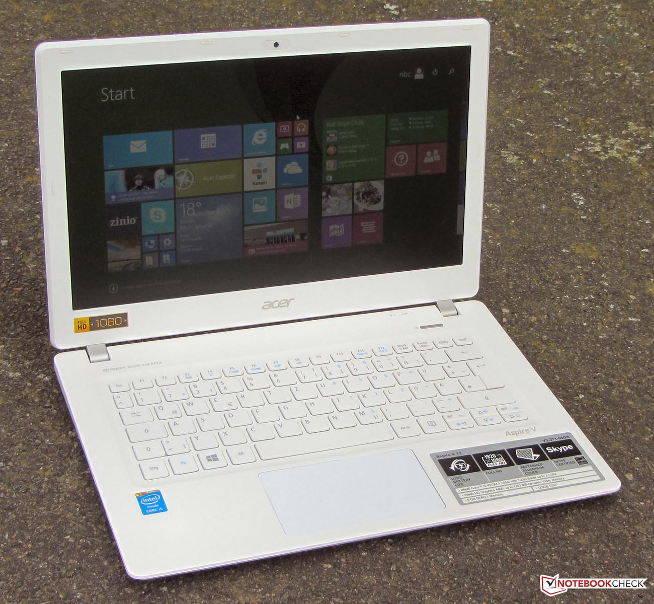 Acer Aspire V3 371 55GS Subnotebook Review