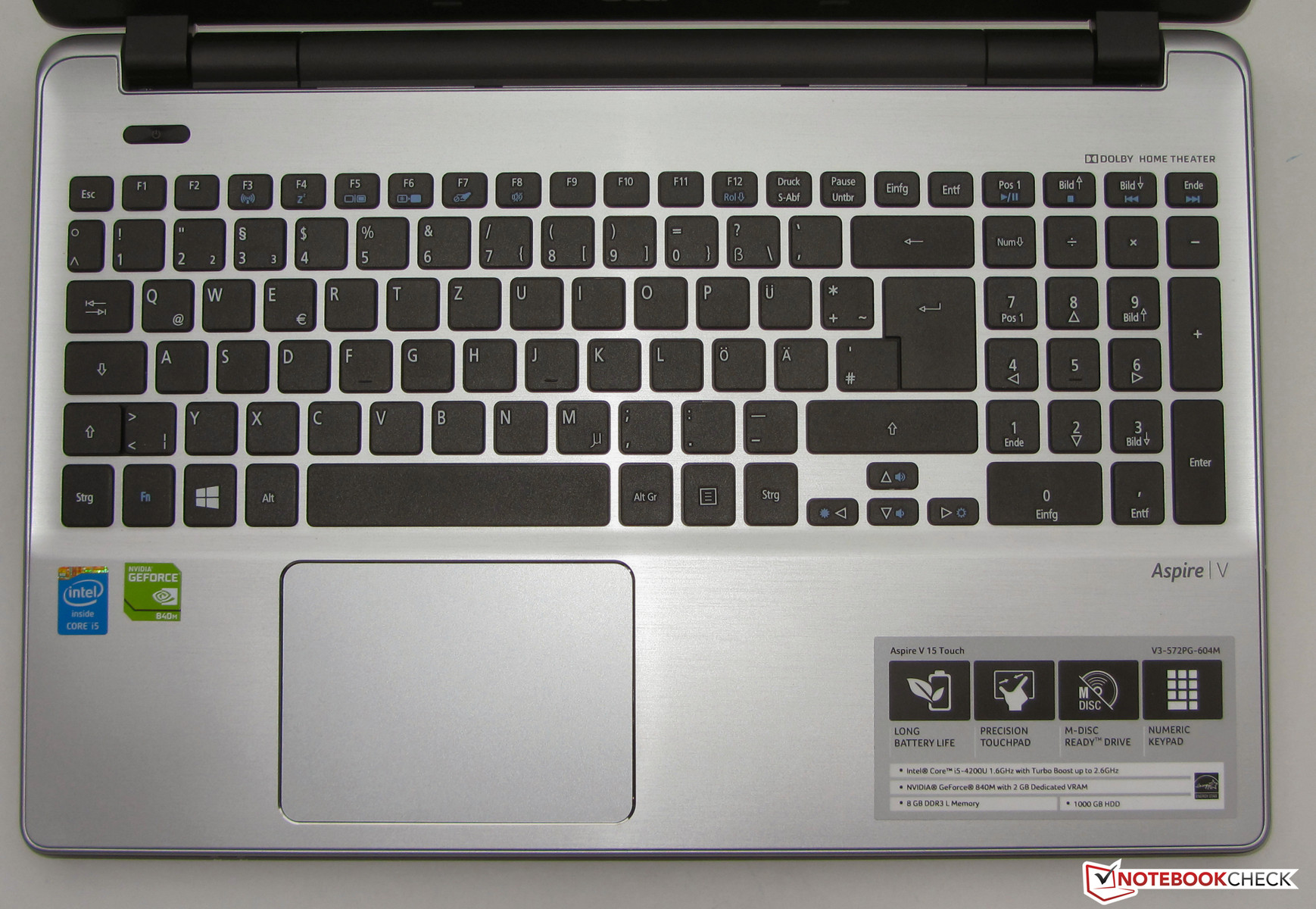 NEW DRIVERS: ACER ASPIRE V3-572G