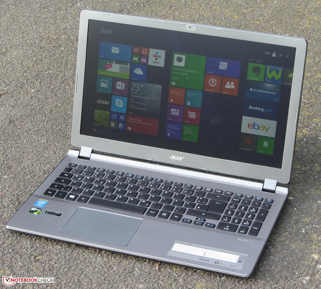 Acer Aspire V5-573G Driver for Windows Download