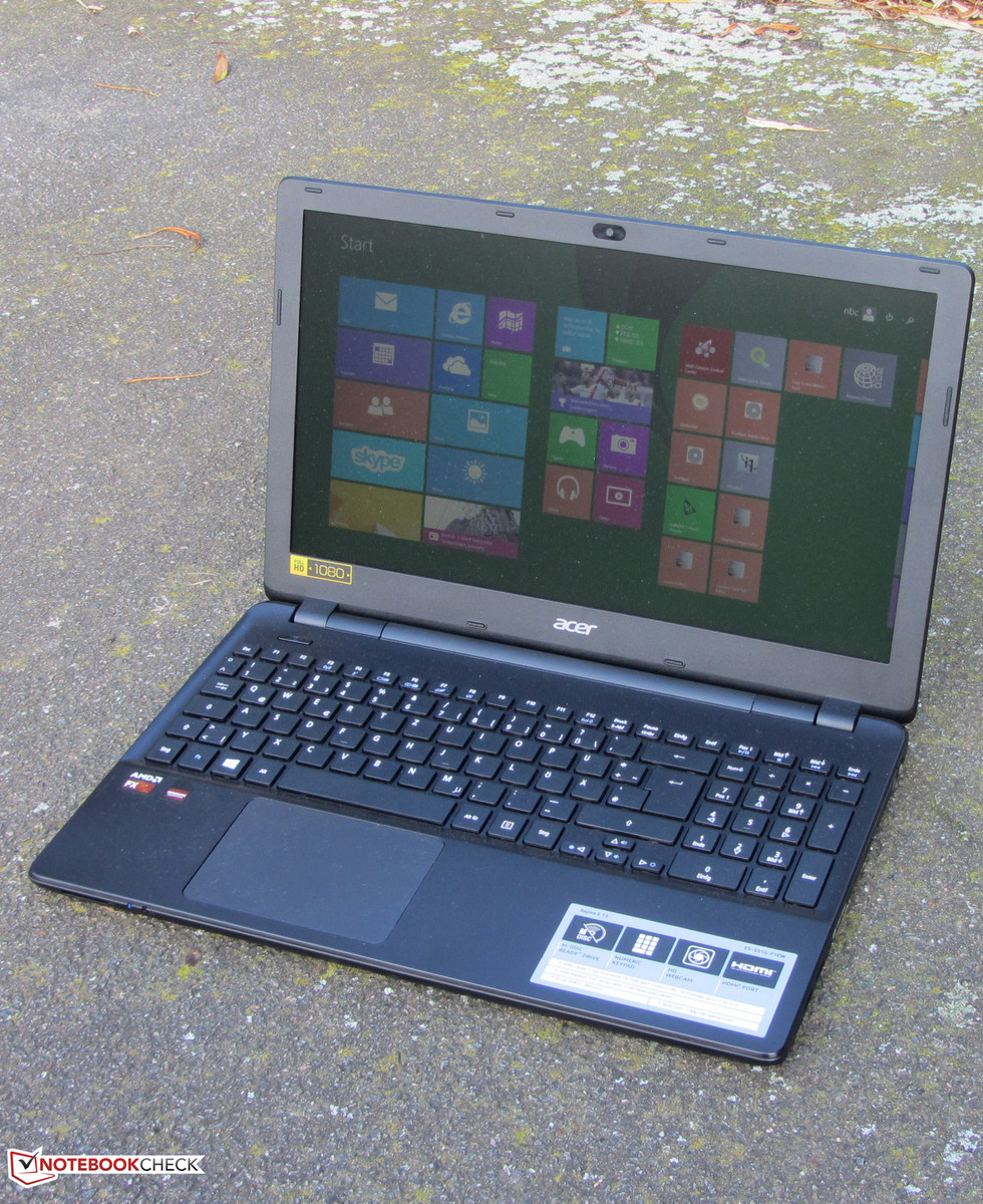 Acer Aspire E5-551G-F1EW Notebook Review Update