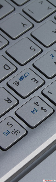 Acer Aspire P3-171: The keyboard is not optional, it belongs to the bundle.