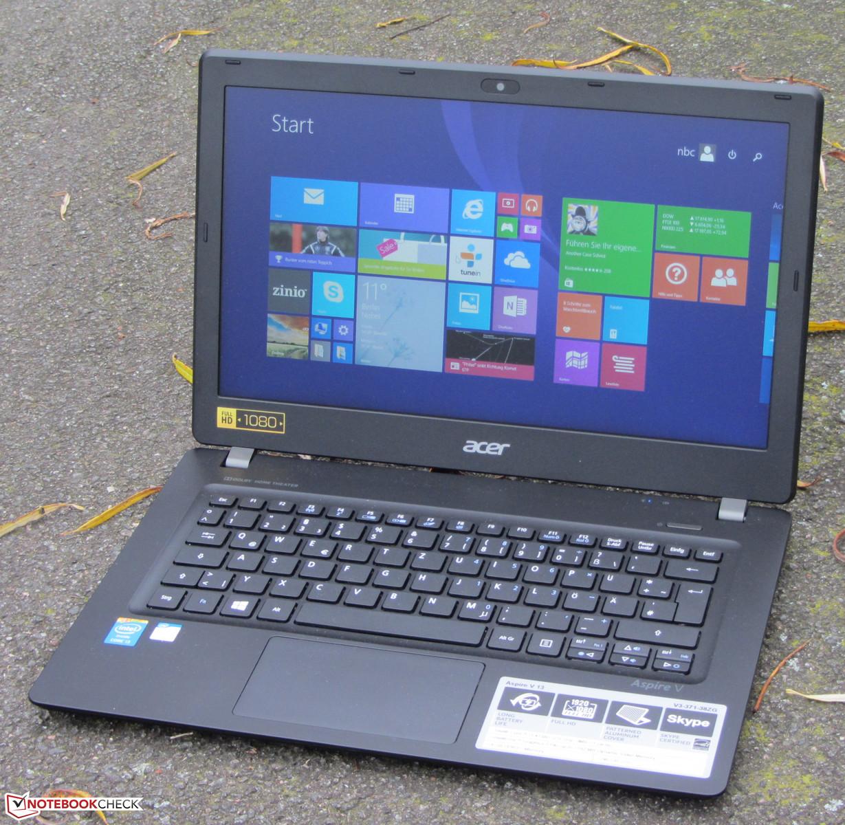 Acer Aspire V3 371 38ZG Subnotebook Review Update