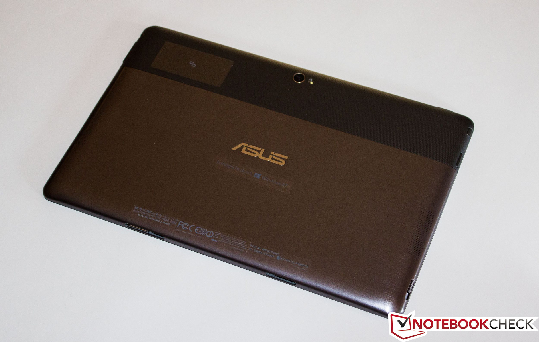 Review Asus Vivo Tab RT TF600 Tablet - NotebookCheck net Reviews