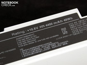 Despite its supposedly low capacity of 4,400 mAh,