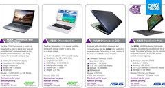 Asus C201 Chromebook with Rockchip processor coming soon