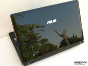 Asus U50Vg with high-gloss surfaces