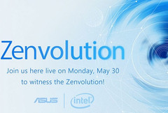 Asus Zenvolution event scheduled for May 30th 2016