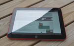 The HP Slate 10 HD outdoors