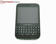 The BlackBerry Q5 is the third smartphone...