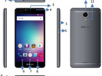 BLU R1 Plus Android smartphone at FCC
