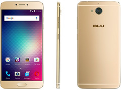 BLU Vivo 6 Android handset with 5.5-inch full HD display and 64-bit MediaTek Helio P10 processor