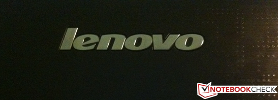 The Lenovo IdeaPad Y570.
