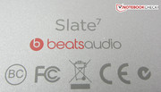 ...that can be clearly enhanced via the integrated Beats Audio HD sound system, particularly when headphones are used.