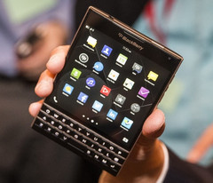 BlackBerry Passport square screen smartphone for business professionals