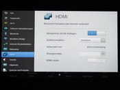Setting HDMI out