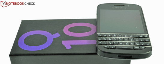 Review BlackBerry Q10 Smartphone - NotebookCheck net Reviews