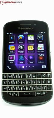Review BlackBerry Q10 Smartphone - NotebookCheck net Reviews