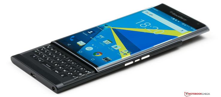 Blackberry Priv Smartphone Review Notebookcheck Net Reviews