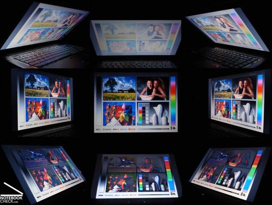 Viewing angle HP Compaq 6735s