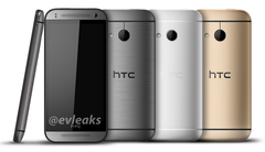 HTC One Mini 2 leak shows colors matching the HTC One M8