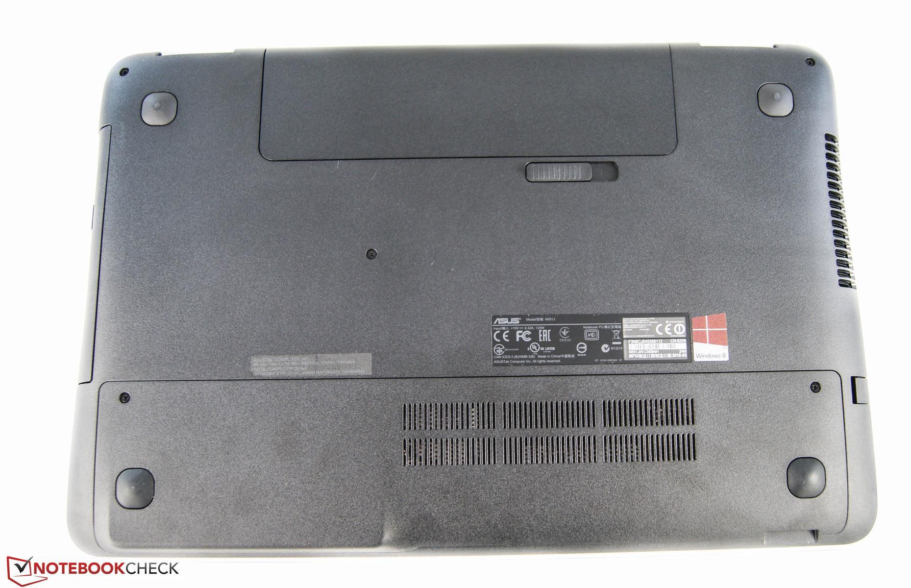 Asus N551JW RST Treiber Windows XP