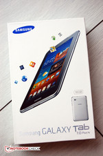 Small but with oomph. That's how Samsung's Galaxy Tab 7.0 Plus N presents itself