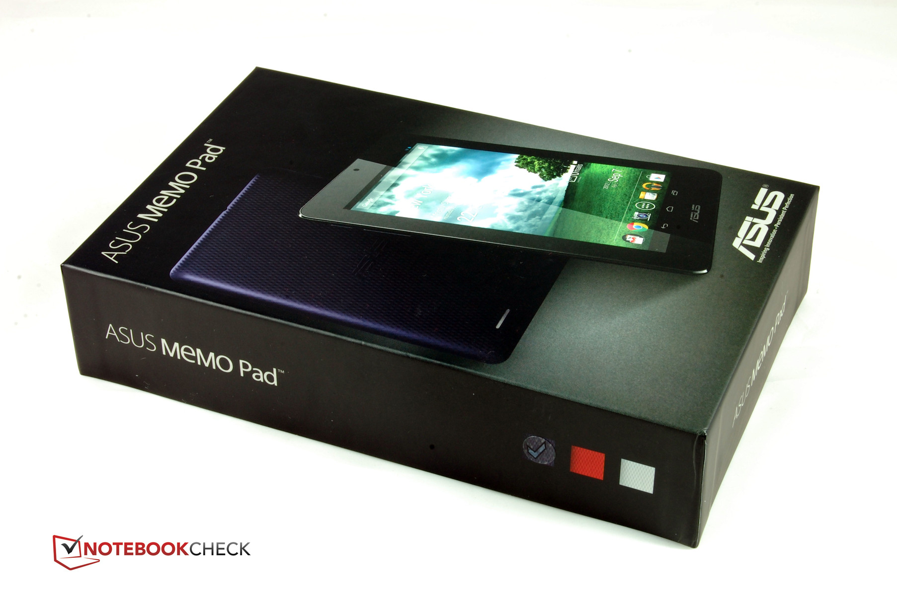 Review Asus Memo Pad ME172V Tablet - NotebookCheck.net Reviews