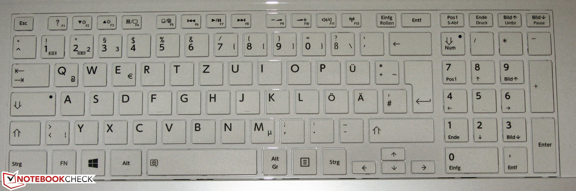 The keyboard is not backlit.