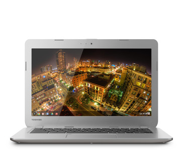 Toshiba 13.3-inch Chromebook front view