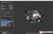 Cinebench R15 under Mac OS