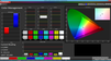 Color Management (target color space sRGB)