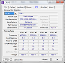 Systeminfo CPUZ RAM SPD 2