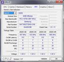 Systeminfo CPUZ RAM SPD