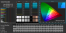 CalMAN ColorChecker calibrated