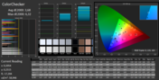 CalMAN ColorChecker (after calibration)