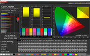 "Profile ""Cinema"": CalMAN ColorChecker sRGB"