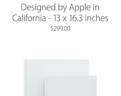 $299 for the Apple Book, a catalog of past and present Apple designs inspired comedy and ironic tweets.
