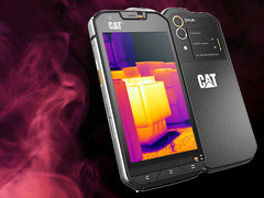 Cat unveils S60 smartphone with integrated IR camera