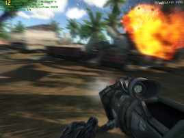 Crysis: high - intense stuttering at 17 fps