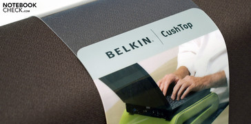 The Belkin CushTop is ideal for the sofa or bed.
