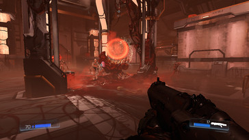 A lower resolution and lower quality level have to be selected for Doom.