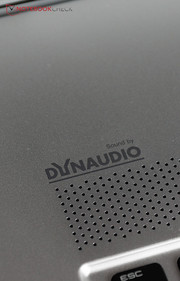 Other things haven't been changed, including the mediocre sound system from Dynaudio.