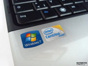MS Windows 7 Home Premium (64-bit) was pre-installed on the Inspiron 13z.