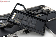 SSDs are available with a capacity of 128 to 768 GByte.
