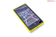 The Lumia can be used as a navigation system for free.