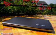 A nice and sunny day: Lenovo's U410 has arrived - out on the balcony!