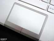 Touch pad with multi-touch, but languid or overeager