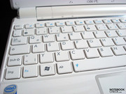 Chiclet keyboard with isolated keys