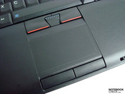 Touchpad with a good reaction - but inappropriate for multi-touch